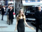 Amanda Seyfried at the 'Late Show With David Letterman' 03/01/11 at the Celebrity Sightings in New York at New York NY