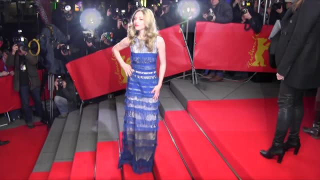 Amanda Seyfried attends the 'Lovelace' Premiere during the 63rd Berlinale International Film Festival at Friedrichstadtpalast at Celebrity Sightings...