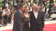 Amanda Seyfried Ethan Hawke Paul Schrader at 'First Reformed' Red Carpet 74th Venice International Film Festival at Palazzo del Cinema on August 31...