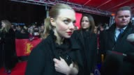 INTERVIEW Amanda Seyfried on having two premieres in one night and being excited for the Oscars 'Les Miserables' Premiere BMW At The 63rd Berlinale...