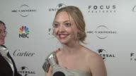 Amanda Seyfried on the event at the NBC Universal Pictures and Focus Features Golden Globes AfterParty Part 1 at Los Angeles CA