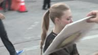 Amanda Seyfriedgreets fans at 'A Million Ways To Die In The West' Premiere in Westwood at Celebrity Sightings in Los Angeles on May 15 2014 in Los...