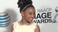 Amandla Stenberg at 44th NAACP Image Awards Arrivals on 2/1/13 in Los Angeles CA