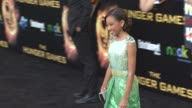 Amandla Stenberg at Hunger Games World Premiere on 3/12/2012 in Los Angeles CA
