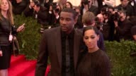 Amar'e Stoudemire and Alexis Stoudmire at 'PUNK Chaos To Couture' Costume Institute Gala at Metropolitan Museum of Art on May 06 2013 in New York New...