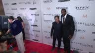 Amar'e Stoudemire and guest at The Daily Front Row Third Annual Fashion Media Awards at Park Hyatt New York on September 10 2015 in New York City