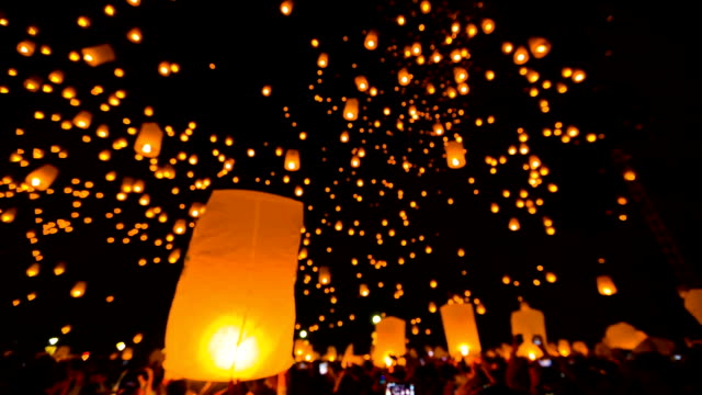 Amazing Loi Kra Tong festival in Thailand.