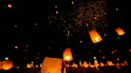 Amazing Loi Kra Tong festival in Thailand