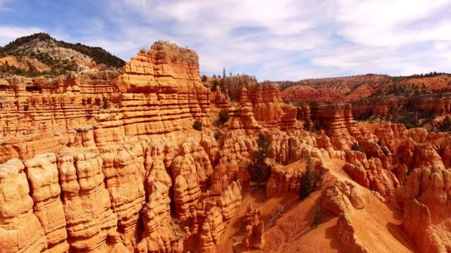 Luchtfoto Amazing rotsformaties in het Canyonlands National Park