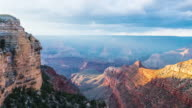 Amazing Timelapse of Sunrays at the Grand Canyon with Camera Dolly Motion