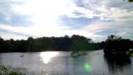 Amazon Sunset Time Lapse