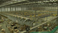 CLEAN Amazon Warehouse in Hemel Hempstead showing large Distribution and packaging machinery Amazon Warehouse interiors in Hemel Hempstead on...