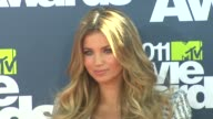 Amber Lancaster at the 2011 MTV Movie Awards at Los Angeles CA
