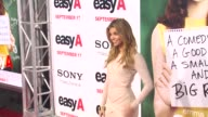 Amber Lancaster at the 'Easy A' Premiere at Los Angeles CA