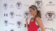 Amber Lancaster at the Muscle Milk Women's Fitness Retreat at Beverly Hills CA