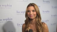 Amber Lancaster on tonight's event at the lia sophia previews the lanaya II collection at West Hollywood CA