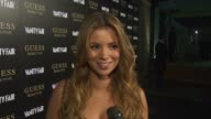 Amber Lancaster on what brings her out tonight growing up wearing Guess what the Guess models/women represent to her her thoughts on what makes a...