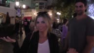 INTERVIEW Amber Lancaster talks about if reality stars should get stars on the Hollywood Walk Of Fame at The Grove in Hollywood Celebrity Sightings...