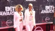 Amber Rose and Blac Chyna at the 2015 BET Awards on June 28 2015 in Los Angeles California