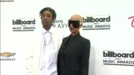 Amber Rose And Wiz Khalifa at the 2014 Billboard Music Awards Arrivals at the MGM Grand Garden Arena on May 18 2014 in Las Vegas Nevada