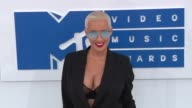 Amber Rose at 2016 MTV Video Music Awards Arrivals at Madison Square Garden on August 28 2016 in New York City