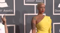 Amber Rose at 54th Annual GRAMMY Awards Arrivals on 2/12/12 in Los Angeles CA