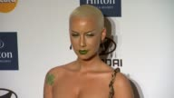 Amber Rose at Clive Davis And The Recording Academy's 2012 PreGRAMMY Gala And Salute To Industry Icons Honoring Richard Branson on 2/11/12 in Beverly...