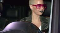 Amber Rose at Pinz in Los Angeles at Celebrity Sightings in Los Angeles on November 05 2014 in Los Angeles California