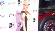 Amber Rose at the 2011 Maxim Hot 100 Party With New Era Miller Lite 2ist And Silver Jeans Co at Hollywood CA