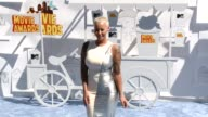 Amber Rose at the 2015 MTV Movie Awards at Nokia Theatre LA Live on April 12 2015 in Los Angeles California