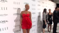 Amber Rose at the ELLE's 16th Annual Women In Hollywood Tribute at Beverly Hills CA