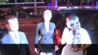 Amber Rose friends at Bootsy Bellows in West Hollywood in Celebrity Sightings in Los Angeles