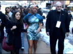 Amber Rose leaving the Christian Soriano Show at the Celebrity Sightings in New York at New York NY