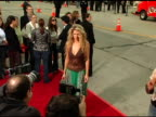 Amber Smith at the 'House of Wax' Premiere on April 26 2005