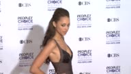 Amber Stevens at the 35th Annual People's Choice Awards at Los Angeles CA