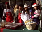 amber stevens at the Christmas at Los Angeles Mission at Los Angeles Mission in Los Angeles California on December 24 2004