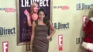 Amber Stevens at the LA Direct Magazine's Holiday Party at Les Deux in Los Angeles California on December 14 2007