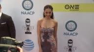 Amber Stevens West at 48th NAACP Image Awards at Pasadena Civic Auditorium on February 11 2017 in Pasadena California