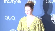 Amber Tamblyn at 2014 InStyle And Warner Bros 71st Annual Golden Globe Awards PostParty at The Beverly Hilton Hotel on in Beverly Hills California