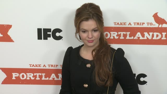 Amber Tamblyn at PORTLANDIA Screening Hosted by IFC Red Carpet New York NY United States 1/5/2012