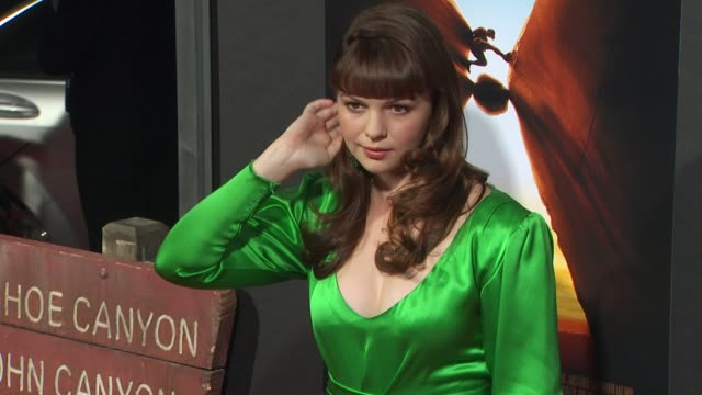 Amber Tamblyn at the '127 Hours' Premiere at Beverly Hills CA