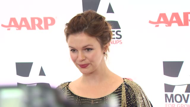 Amber Tamblyn at the AARP The Magazine's 10th Annual Movies For Grownups Awards at Beverly Hills CA