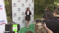 Amber Tamblyn at the Ellen DeGeneres and Portia De Rossi host Yes On Prop 2 party at Los Angeles CA
