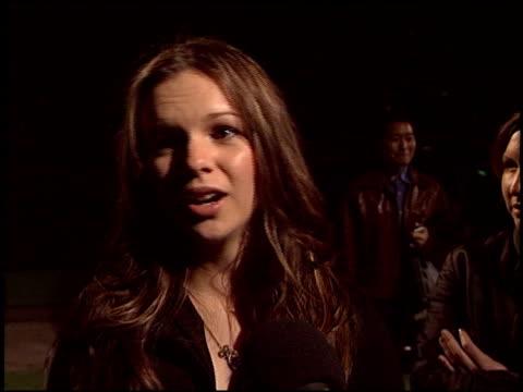Amber Tamblyn at the Environmental Media Awards at Ebell Theatre in Los Angeles California on November 5 2003