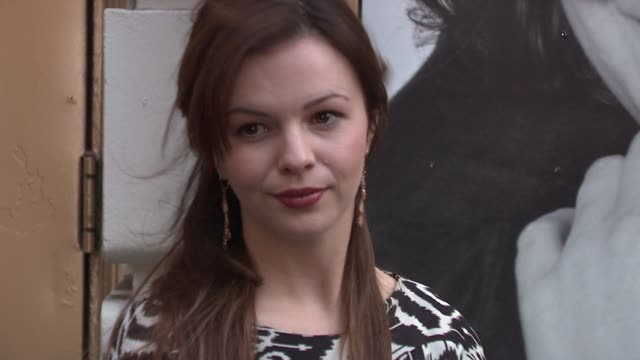 Amber Tamblyn at the 'God Of Carnage' Broadway Opening Arrivals at New York NY