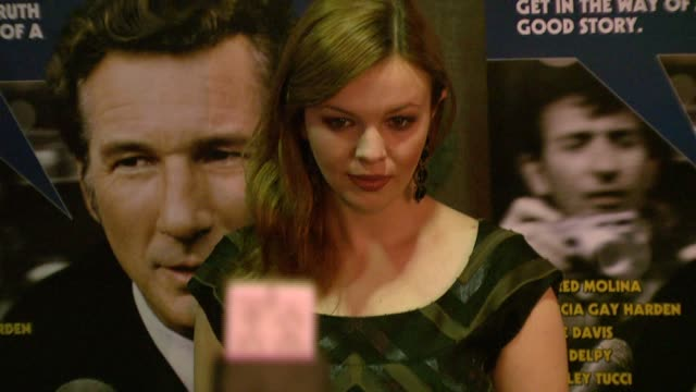 Amber Tamblyn at the 'The Hoax' New York Premiere at Cinema 1 3 in New York New York on April 1 2007