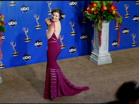 Amber Tamblyn presenter of Outstanding Supporting Actress in a Drama Series at the 2004 Primetime Emmy Awards press room at the Shrine Auditorium in...