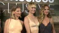Amber Valetta Elizabeth von Guttman Alexia Niedzielski at HM Conscious Exclusive Dinner in Los Angeles CA