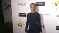 Amber Valletta at Gelila And Wolfgang Puck's Dream For Future Africa Foundation Gala in Beverly Hills CA on