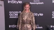 Amber Valletta at The Hollywood Foreign Press Association And InStyle Celebrate The 2014 Golden Globe Awards Season in West Hollywood CA on
